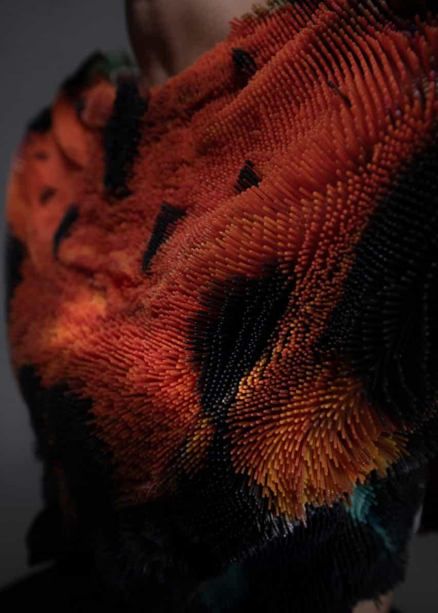 Setas chaqueta de Julia Koerner