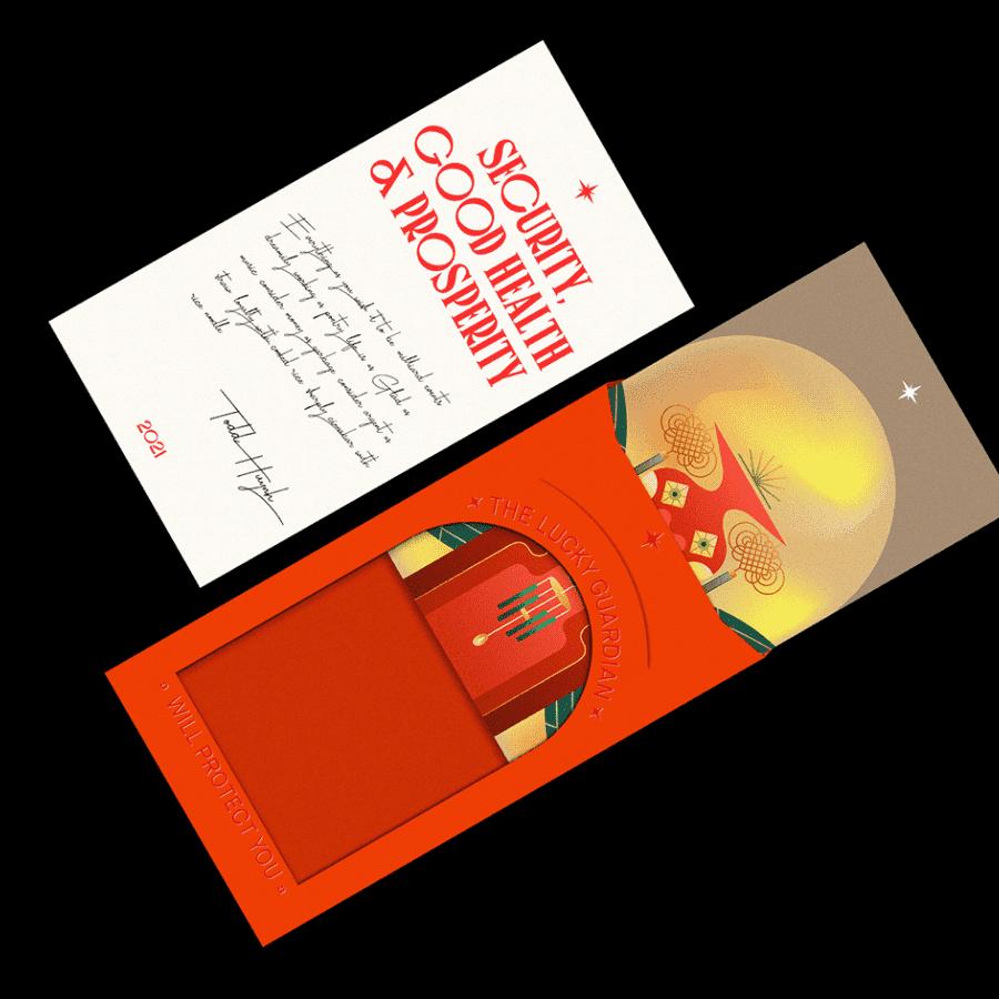Sobres rojos - Ilustraciones de The Fortune Guardians