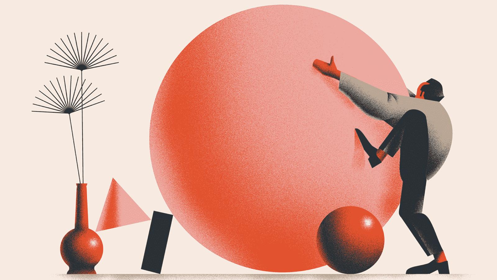 El uso del estilo Textura en la ilustración: Revista Wizje