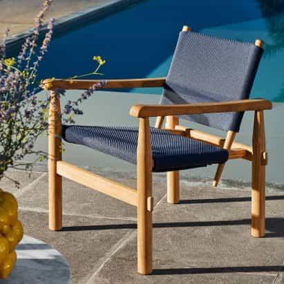 """Cassina presenta muebles de exterior diseñado como """"una extensión de la casa"""""""