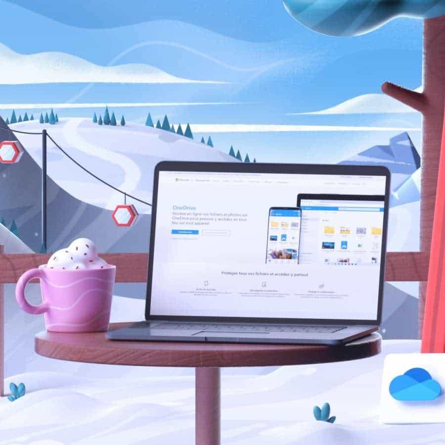 Microsoft 365 - Serie de ilustraciones 3D The New Way