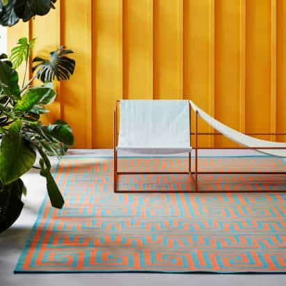 Adam Nathaniel Furman diseña la colección colorido gráfico alfombra de piso Historia