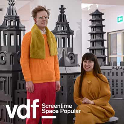 Entrevista en vivo con el espacio populares como parte del Festival de Diseño Virtual