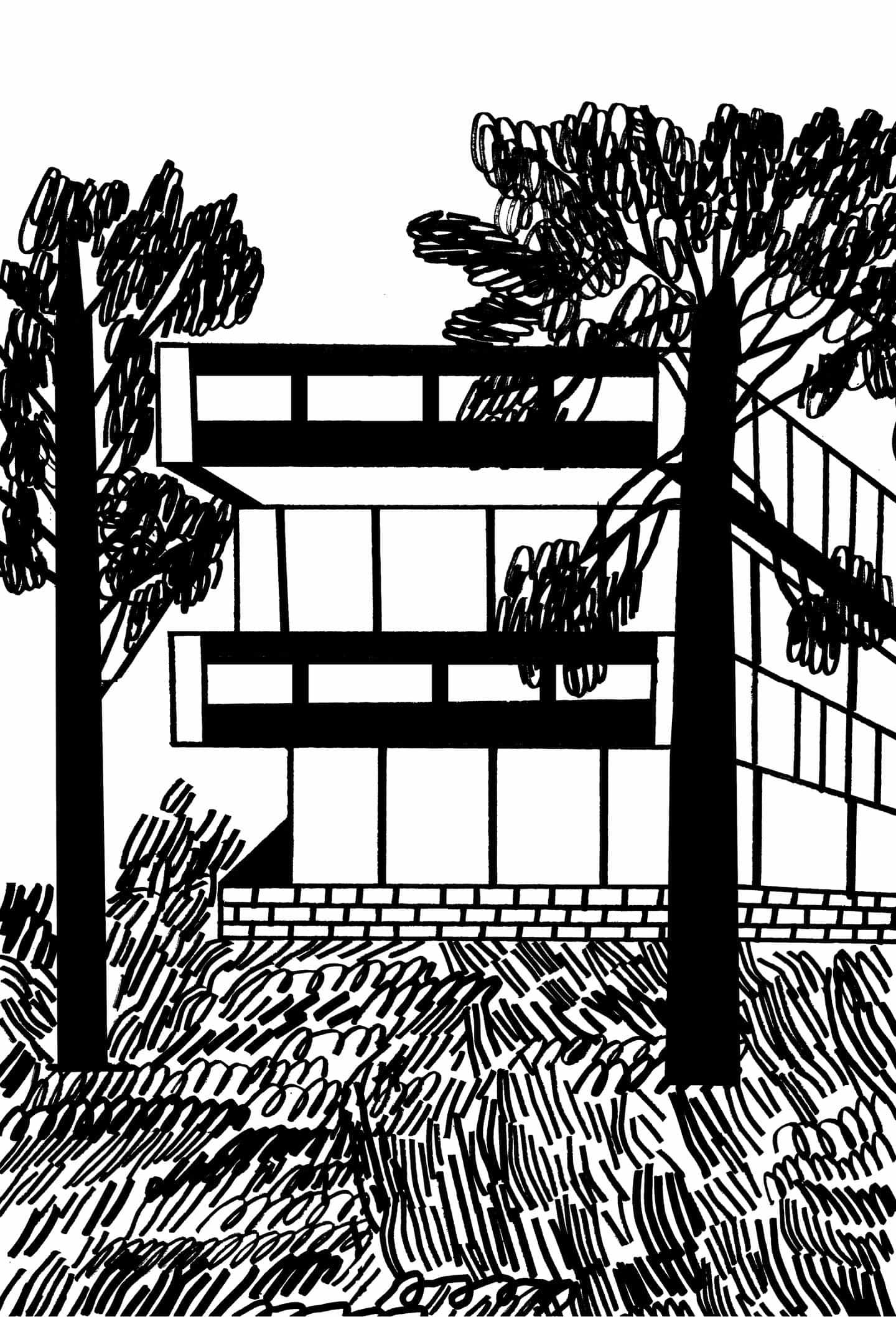 El último trabajo de Marcus Oakley se centra en una visión en blanco y negro de la parte exterior