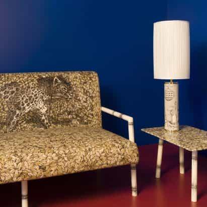 Leopardo colección por Fornasetti