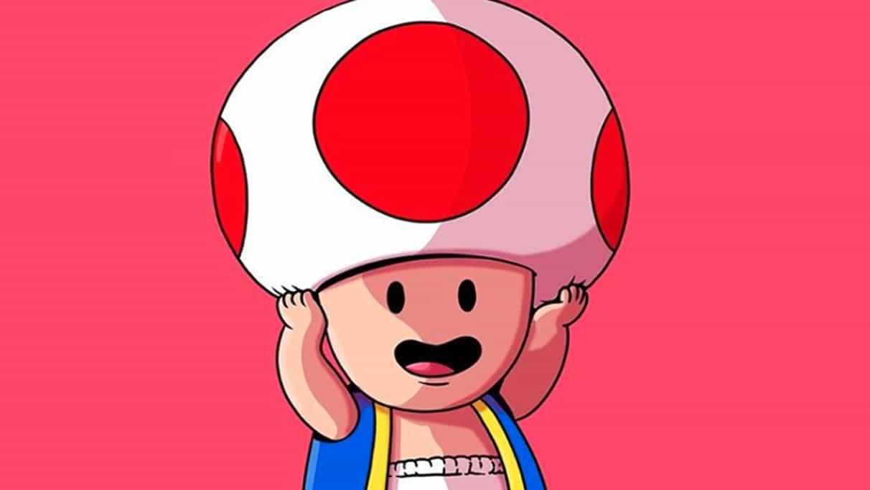Toad se quita el sombrero y lo que hay debajo es horrible