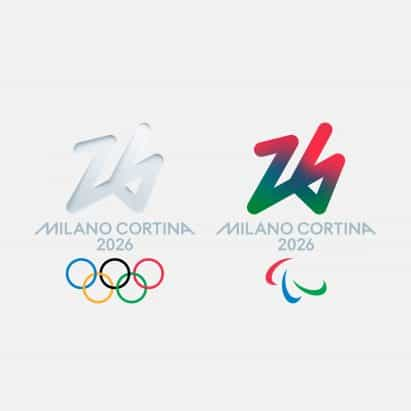 Revelan logotipo olímpico de invierno de 2026 tras votación pública