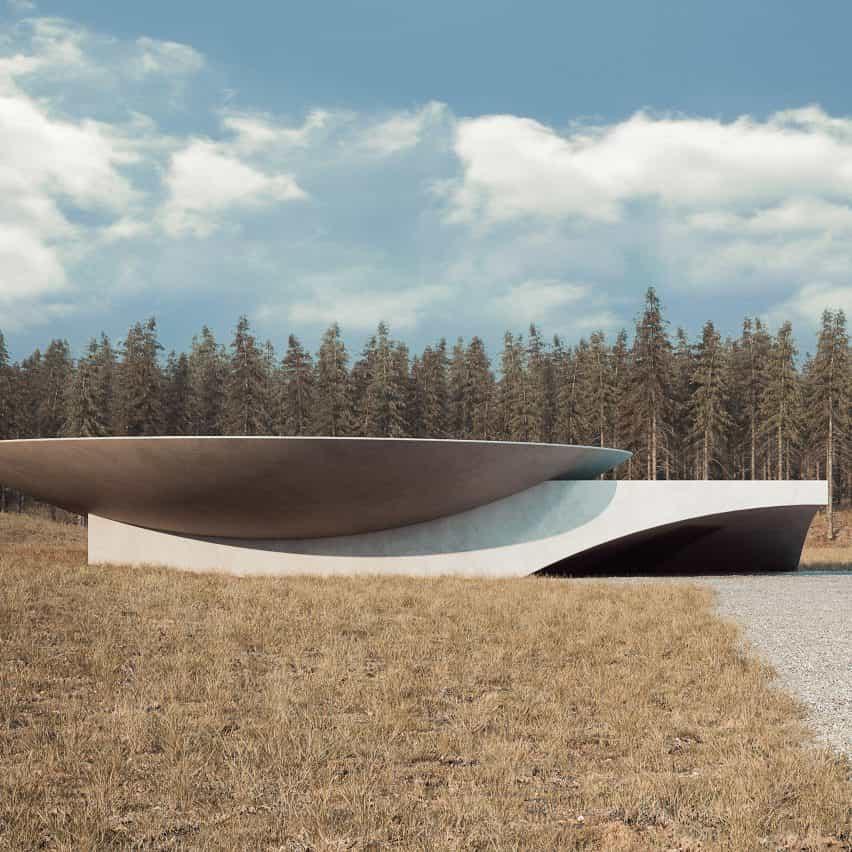 «Underground House Plan B», por Sergey Makhno Architects, Ucrania
