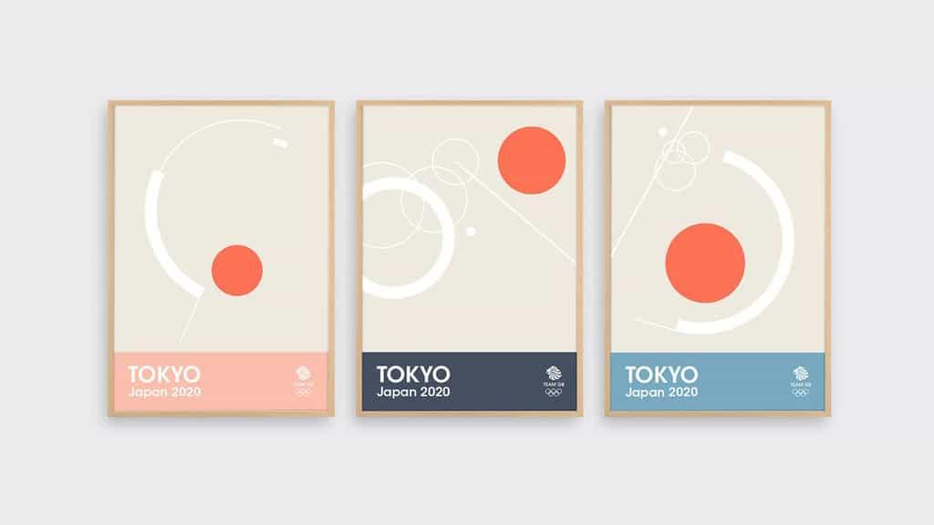 Nuevo Tokio 2020 impresiones son un sueño con un diseño esencial