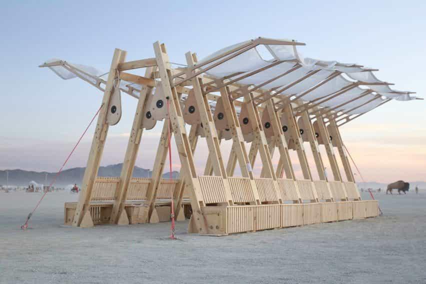Archaeopteryx en Burning Man 2019