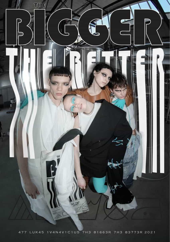 La colección de moda Bigger The Better de Lukas Ivanavičius