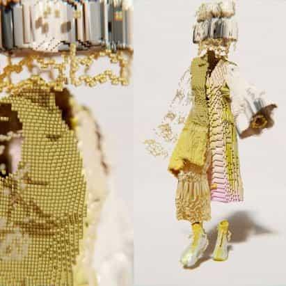Santa Kupča crea la línea de ropa digital pixelada Decrypted Garments