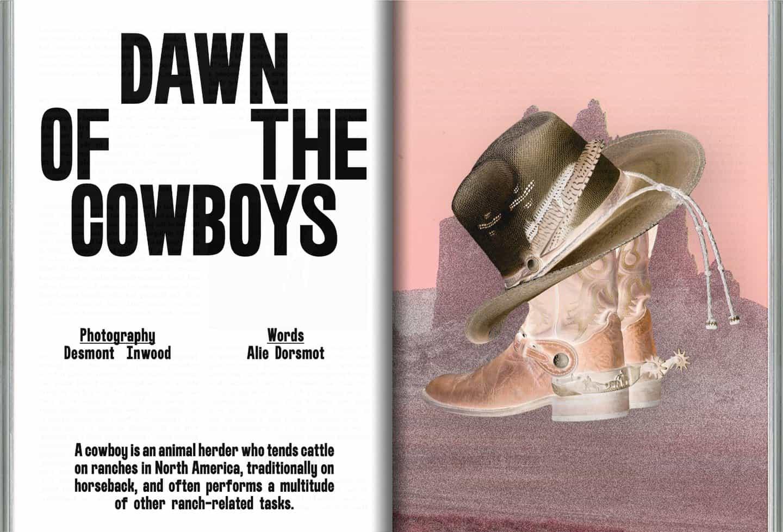 Callum Abbott: Conexión perdida, amanecer de los Cowboys (© Callum Abbott, 2020)