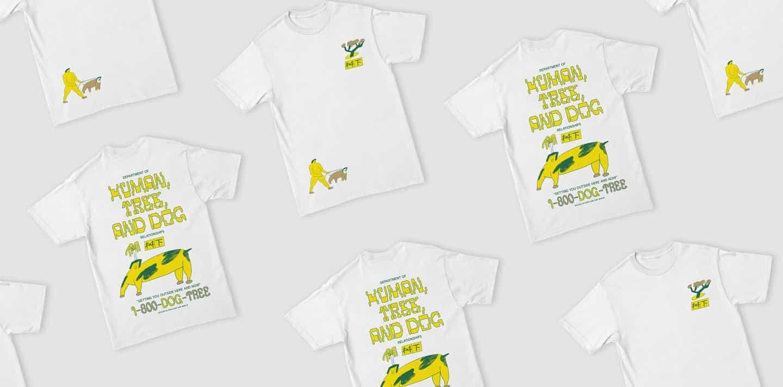 Bijan Berahimi y Ruohan Wang crear una camiseta que nos anima a interactuar con la naturaleza