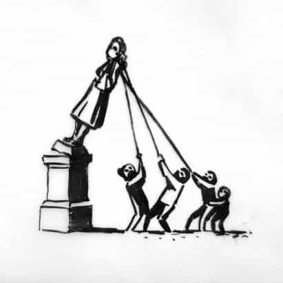 Banksy propone el restablecimiento de la estatua de Edward Colston como parte del monumento esclavitud