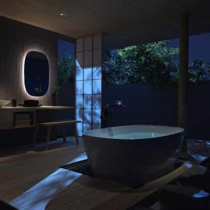 S600 Línea bañera independiente por Inax