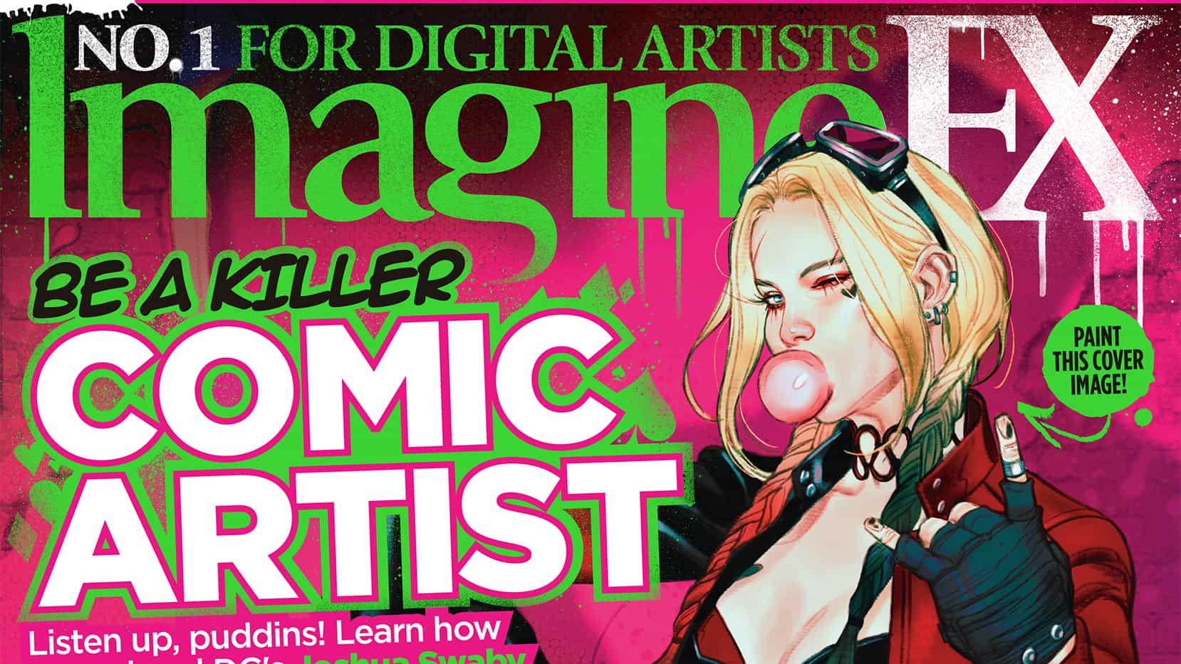 Aprenda a dibujar cómics con la nueva edición de ImagineFX