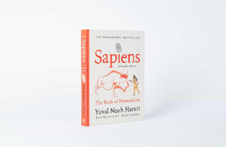 En la novela gráfica Sapiens, Daniel Casanave ilustra más vendido de la historia de la humanidad Yuval Noah Harari