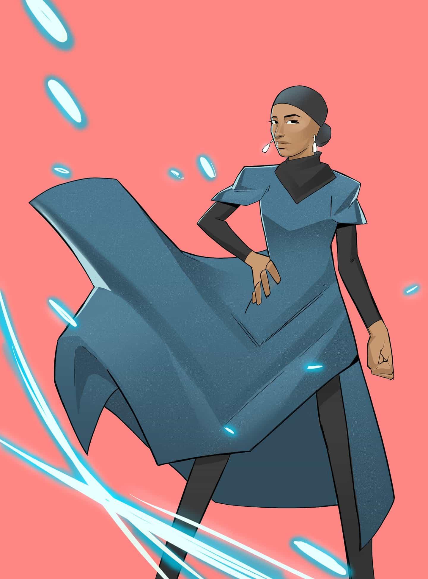 #Merky Books: Superhéroes, Historias inspiradoras de fuerza secreta. Ikram Abdi (Copyright © #Merky Books, 2021)
