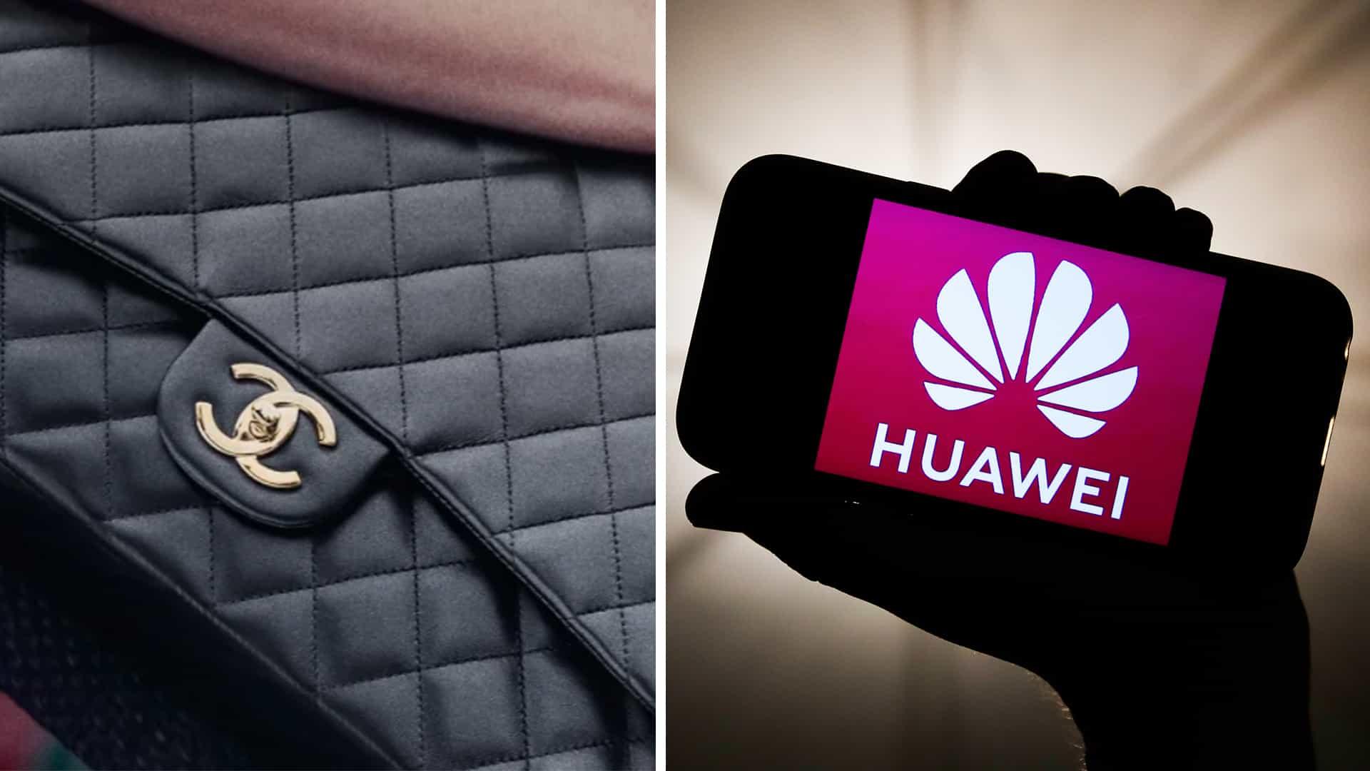 Chanel vs Huawei podría ser la disputa de logotipos más ridícula hasta ahora