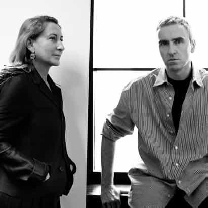 Raf Simons se convierte en co-director creativo de Prada