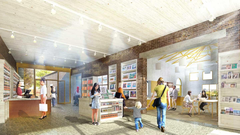 Quentin Blake Centro de ilustración será el mayor espacio para las artes públicas del mundo para el medio