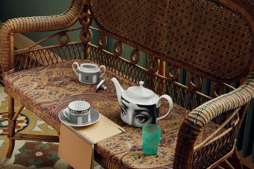 Set de té de Fornasetti
