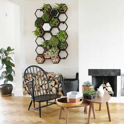 Horticus crea modular de pared de vida interior