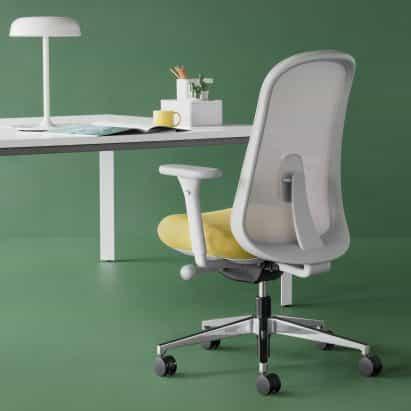 Lino silla de oficina por Sam Hecht y Kim Colin para Herman Miller
