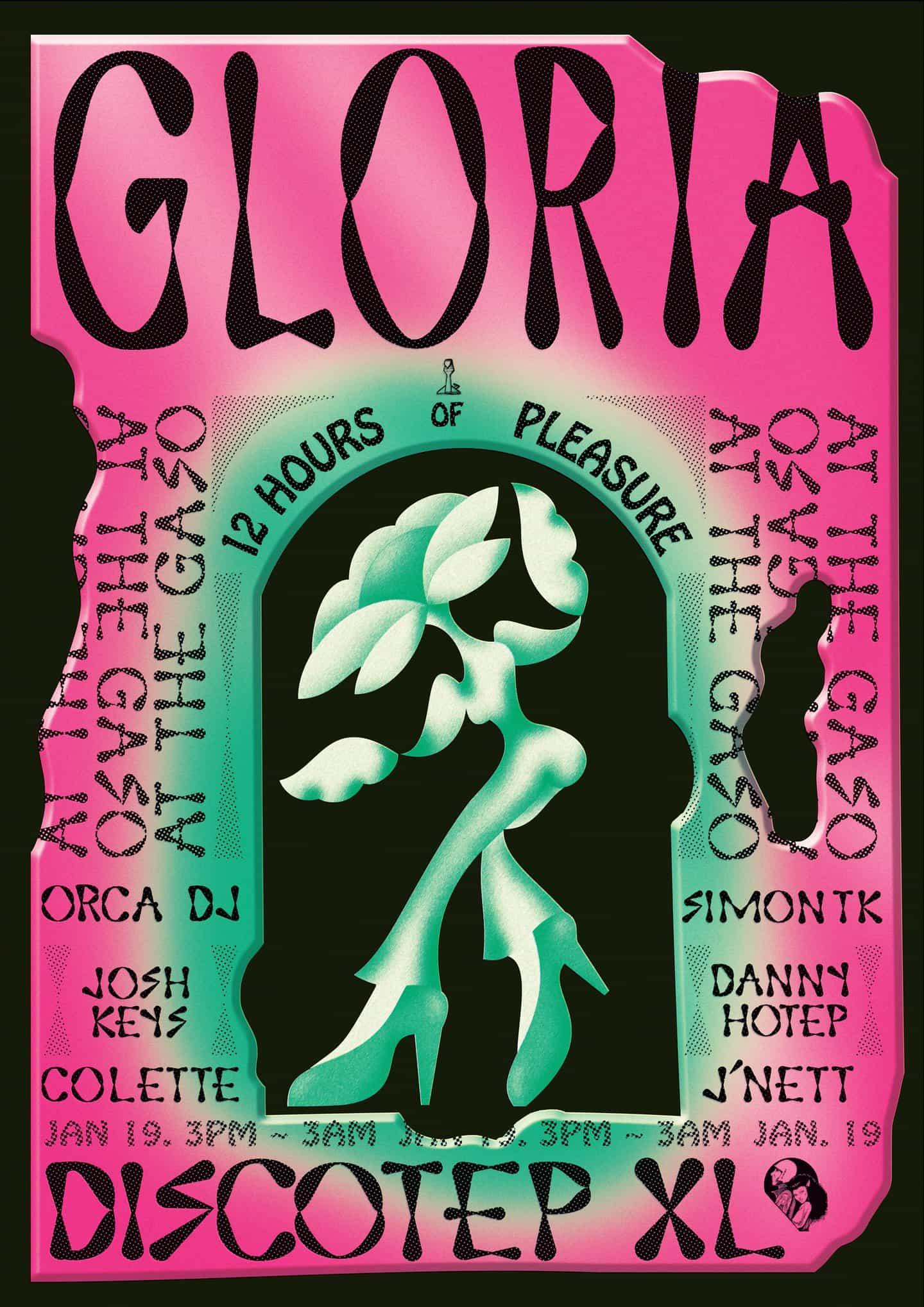 Discotep, Gloria,