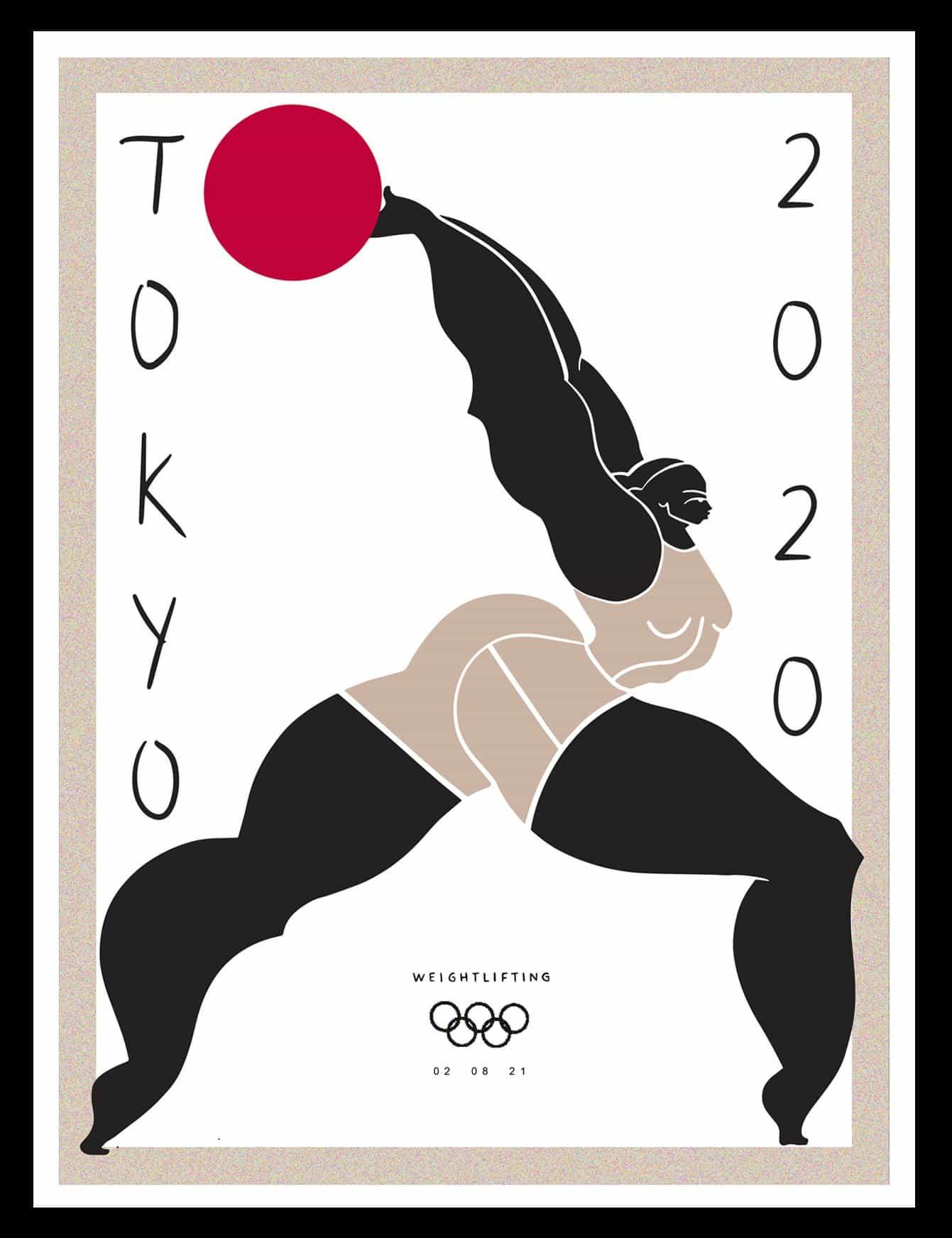 La serie olímpica de Tokio de la ilustradora Kelly Anna demuestra que aún no ha terminado de evolucionar