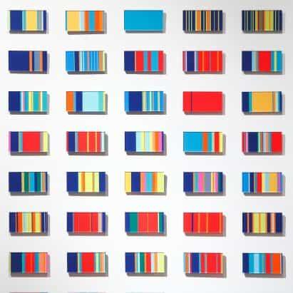 La vida de la raya por la propagación utiliza el color para convertir las experiencias cotidianas en obras de arte