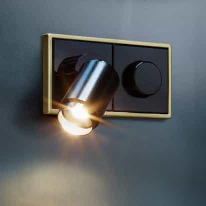 Plug & Light por Jung
