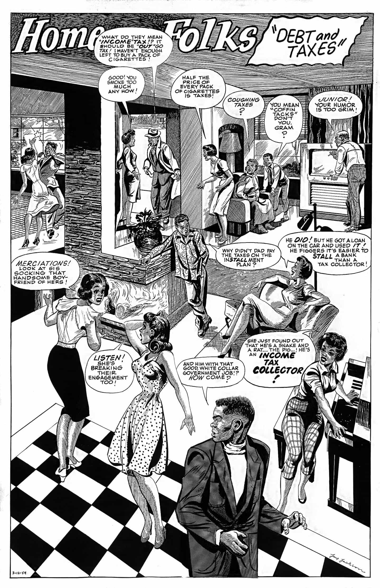 Un nuevo libro detalla el trabajo de los dibujantes negros en Chicago entre 1940-1980